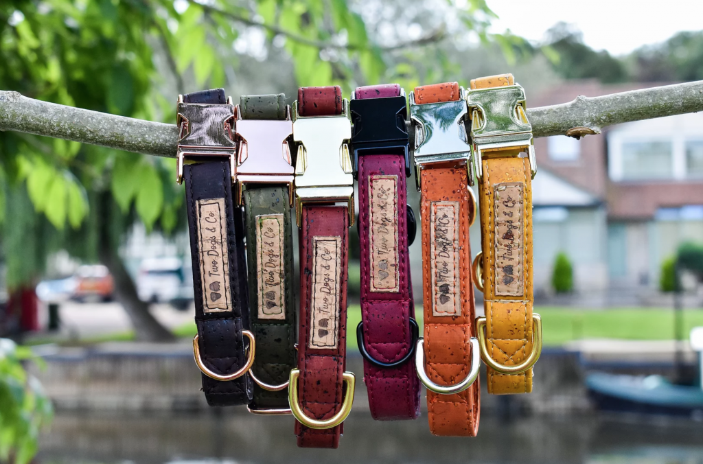 stylish christmas gift idea for a dog lover cork collars